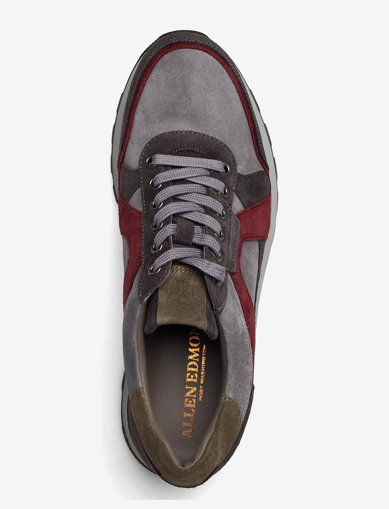 Allen Edmonds - A-Trainer - låga sneakers - grey/burgundy - 3