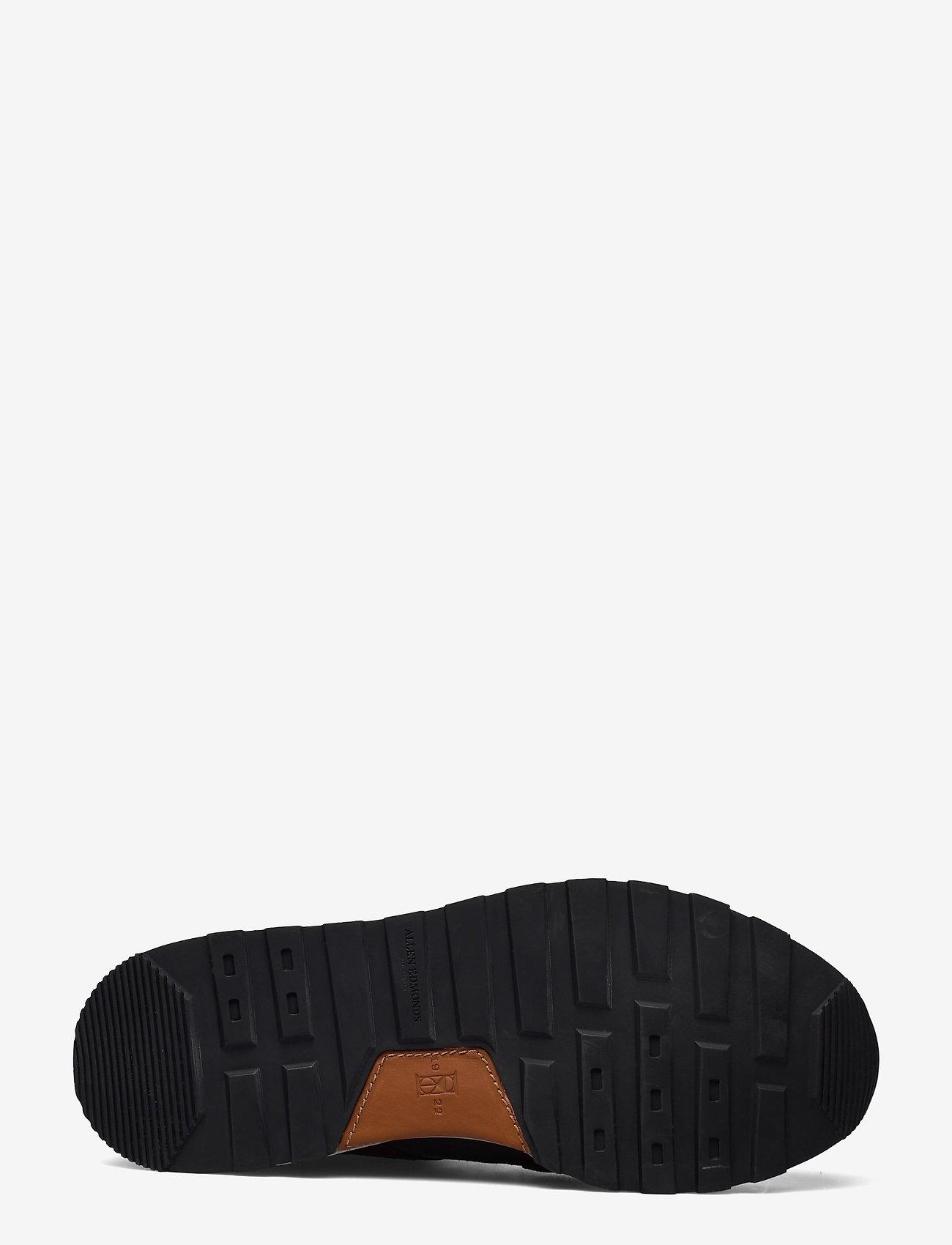 Allen Edmonds - A-Trainer - låga sneakers - grey/burgundy - 4