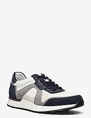 Allen Edmonds - A-Trainer - låga sneakers - navy/white - 1