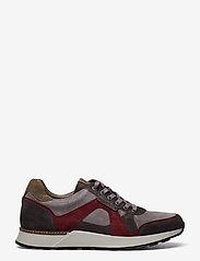 Allen Edmonds - A-Trainer - låga sneakers - grey/burgundy - 1