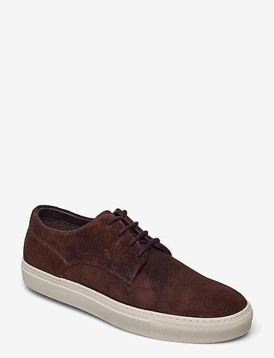 Howard Derby - låga sneakers - dark brown