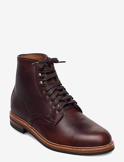 Higgins Mill - bottes lacées - brown