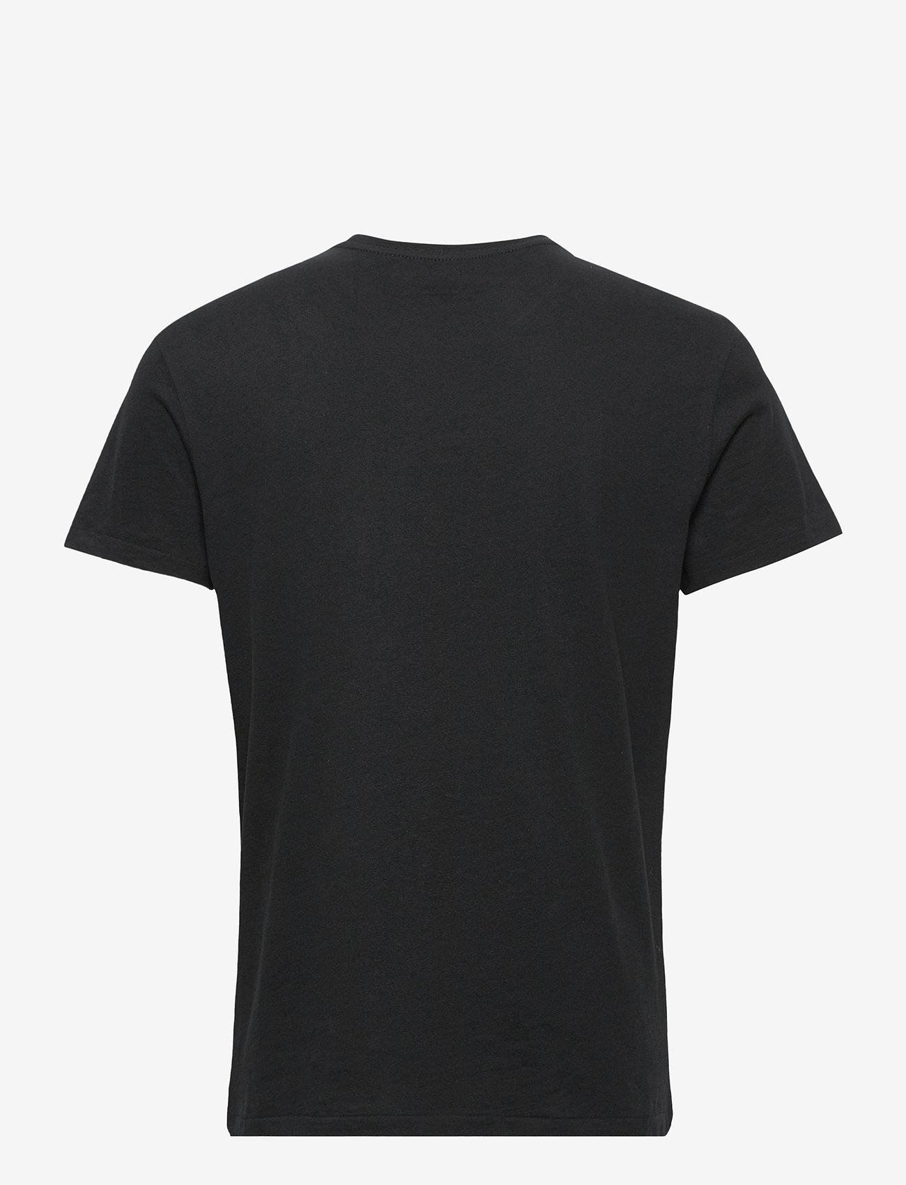 AllSaints - ELEMENT SS CREW - t-shirts basiques - jet black - 1