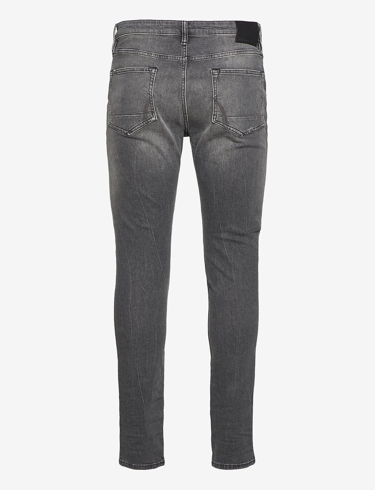 AllSaints - CIGARETTE DAMAGED - slim jeans - faded black - 1