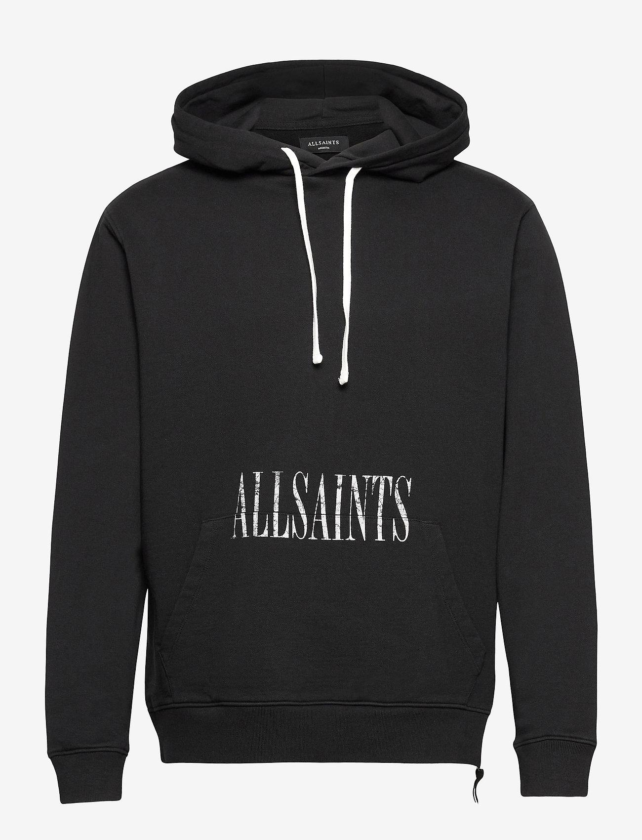 AllSaints - TULUM OTH HOODY - sweats à capuche - jet black - 0