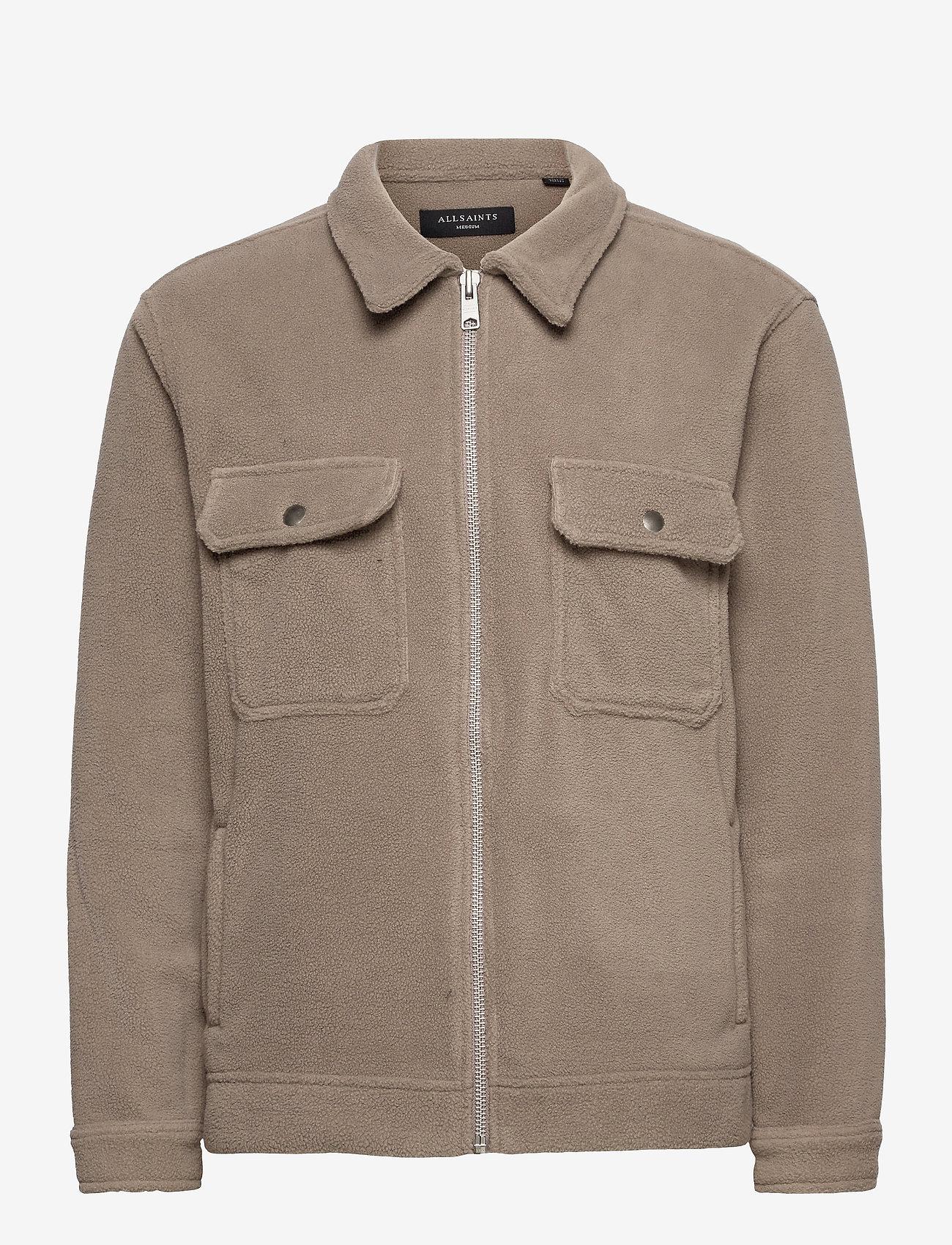 AllSaints - CLAYTON JACKET - basic-sweatshirts - mangrove brown - 0