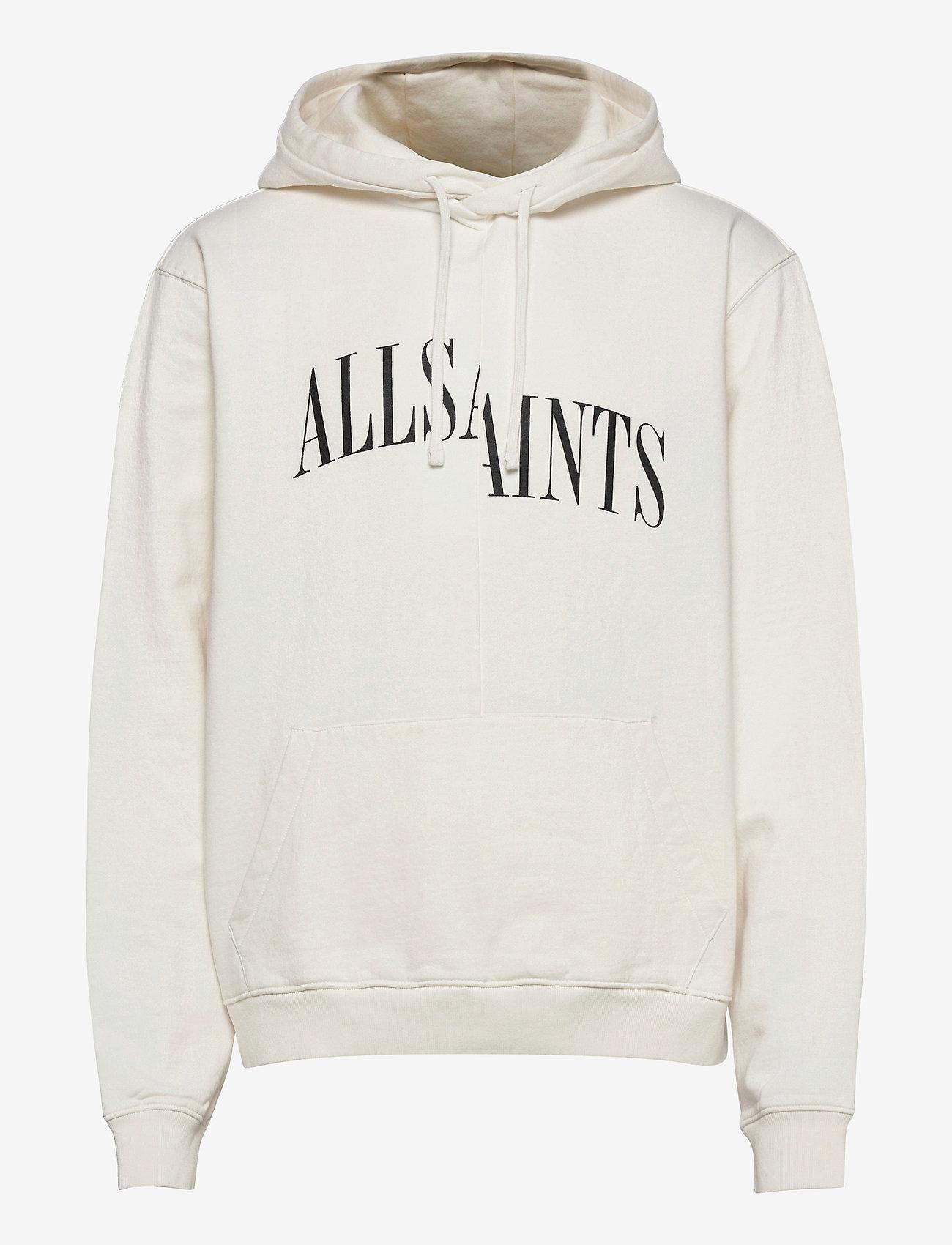 AllSaints DROPOUT OTH HOODY - Sweatshirts CHALK WHITE - Menn Klær