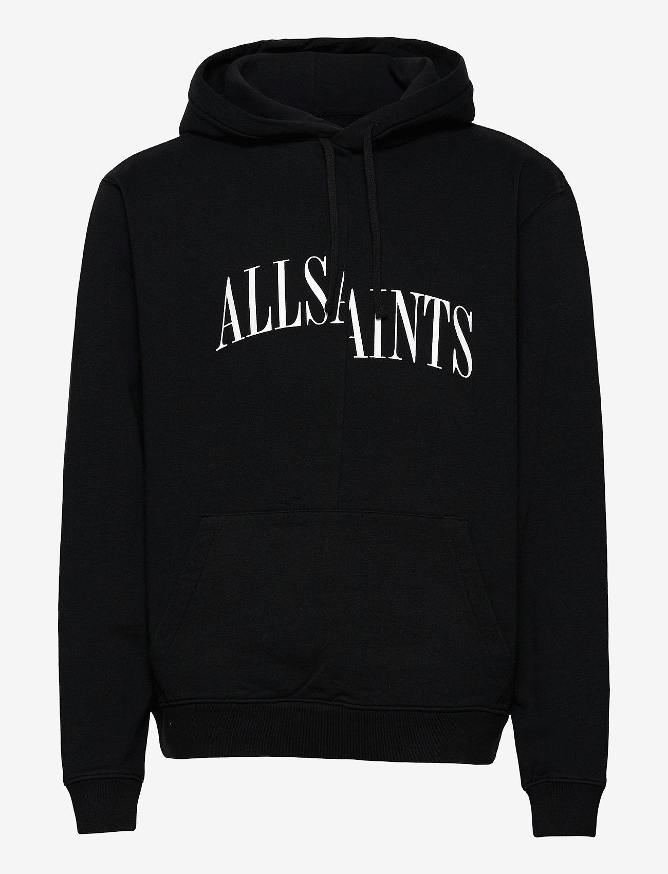 AllSaints DROPOUT OTH HOODY - Sweatshirts JET BLACK - Menn Klær
