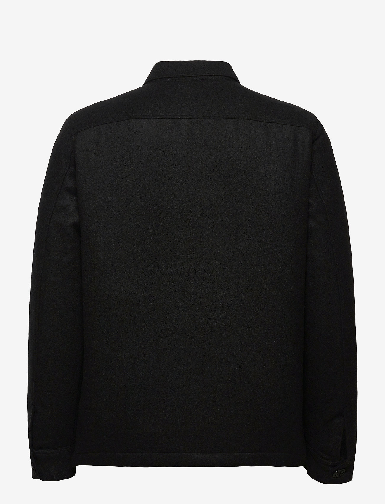 AllSaints - POTOMAC LS SHIRT - vêtements - jet black - 1