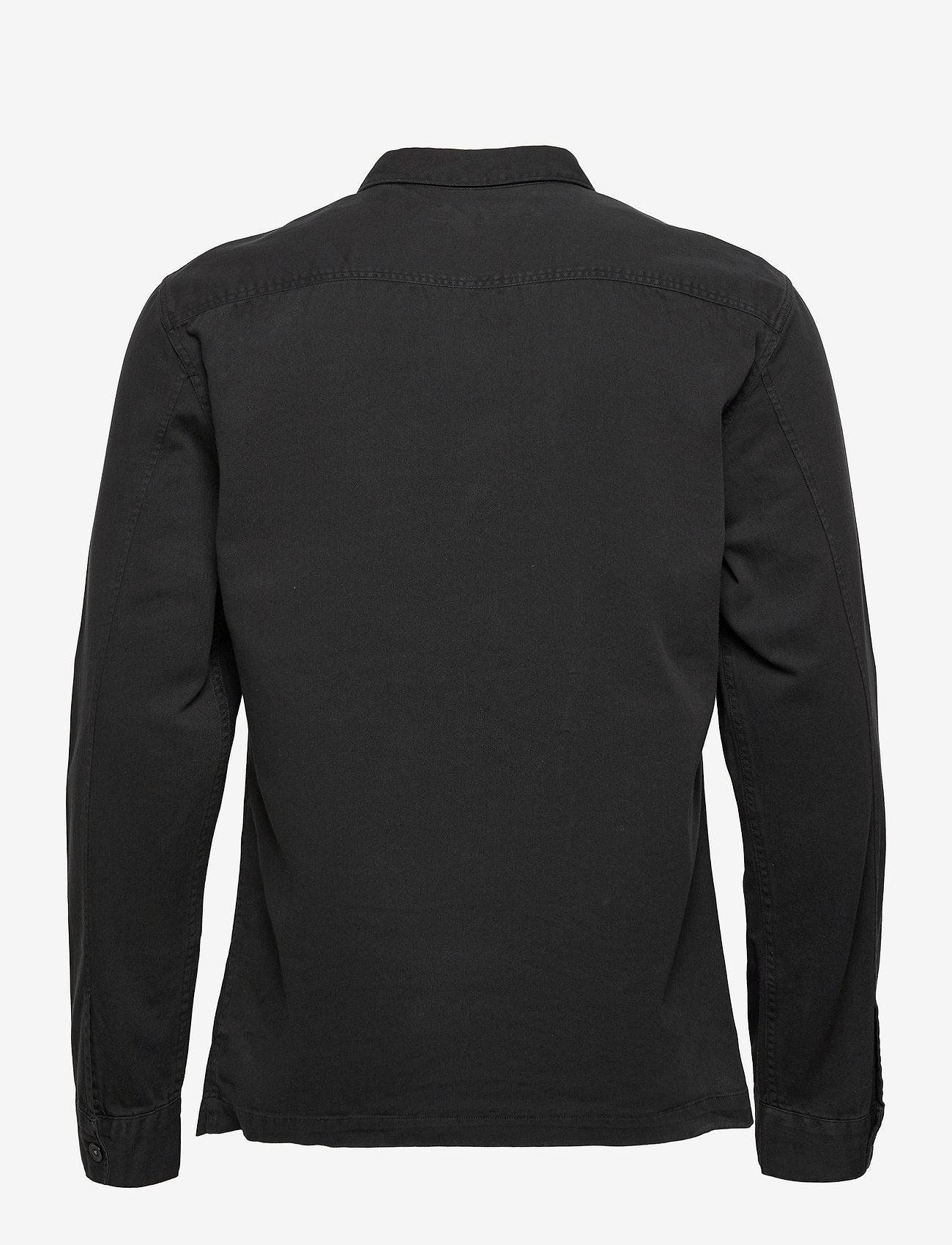 AllSaints - SPOTTER LS SHIRT - chemises de lin - black - 1
