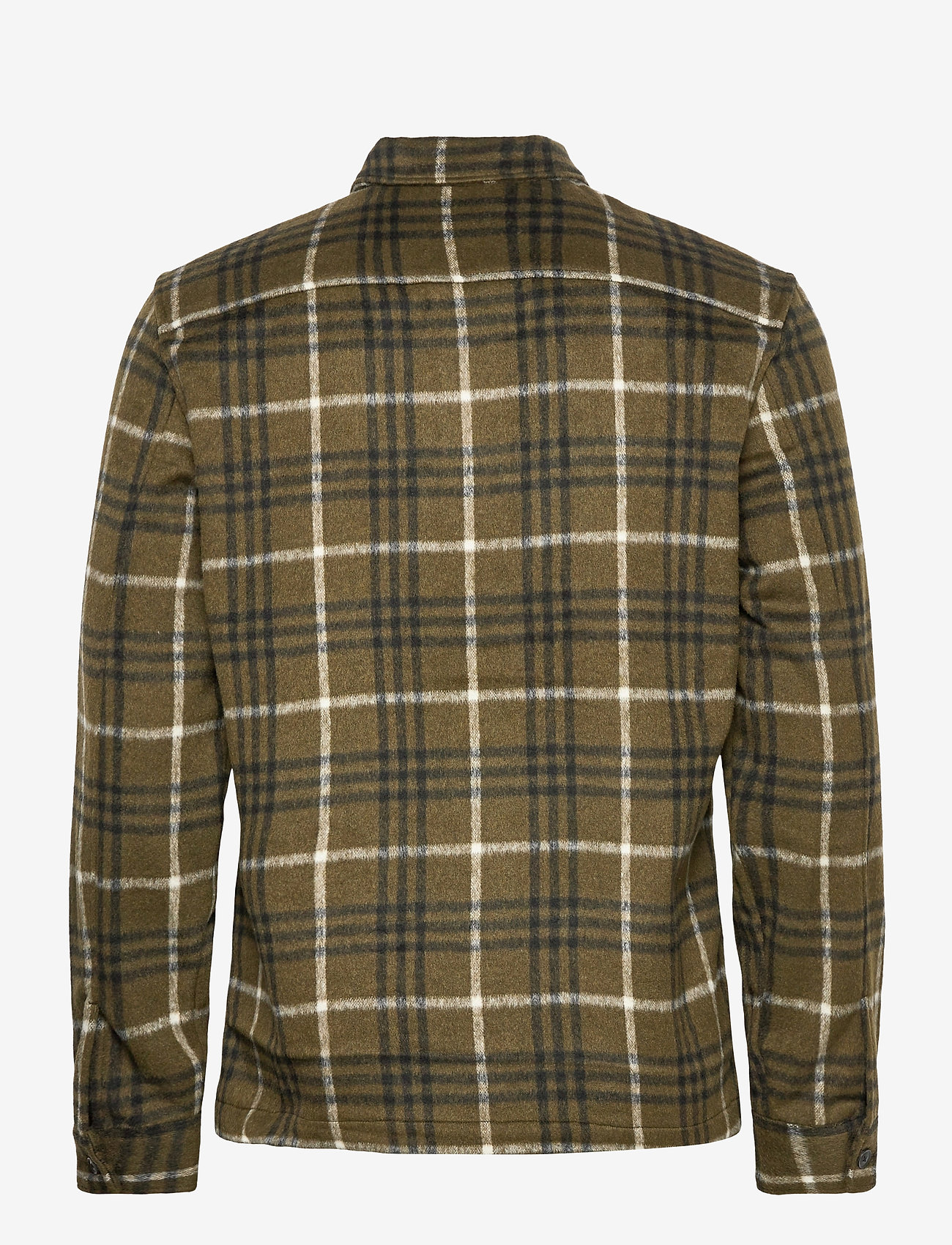 AllSaints - BERTHOLD LS SHIRT - chemises de lin - birch green/jt blk - 1