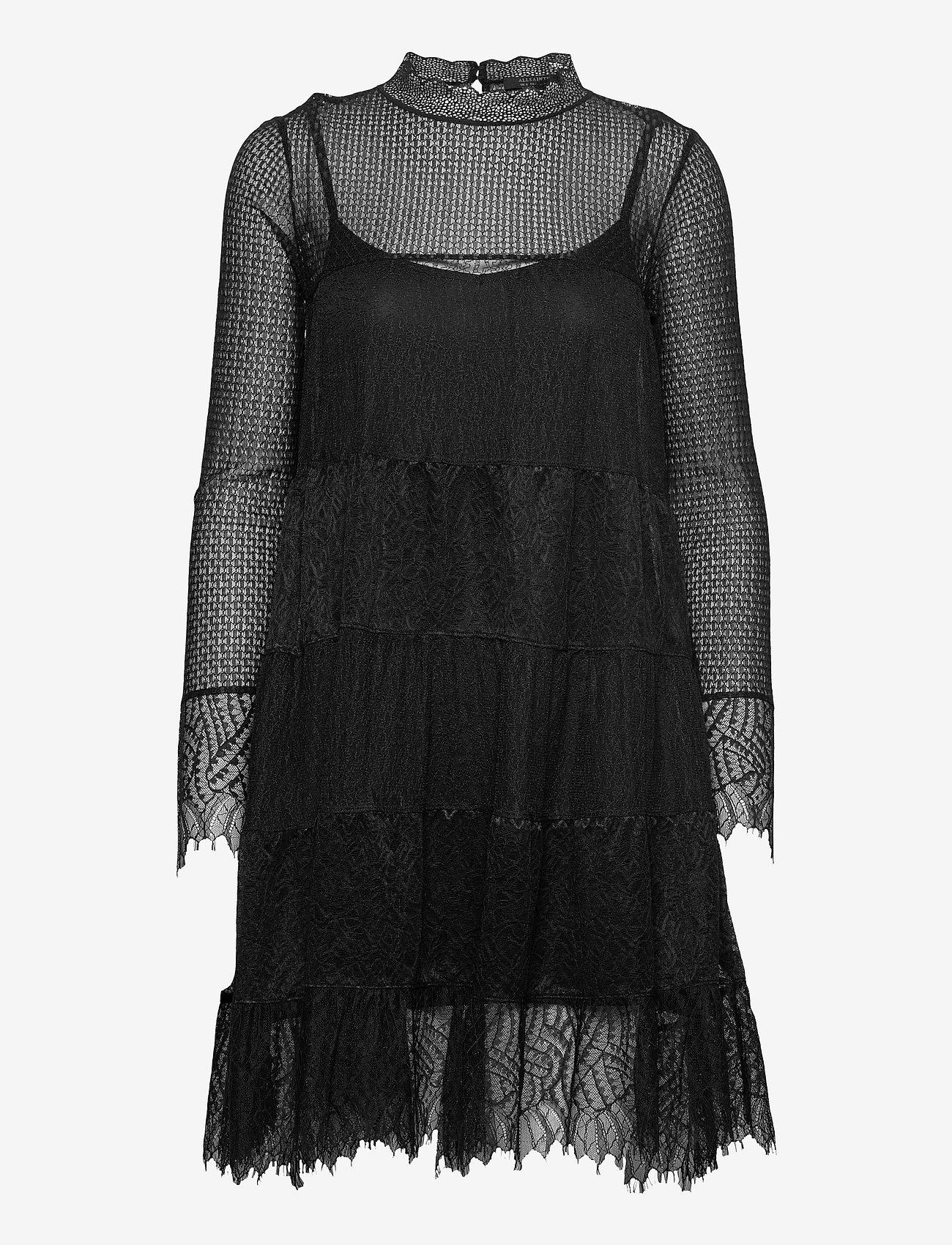 AllSaints - BRIELLA DRESS - blondekjoler - black - 1