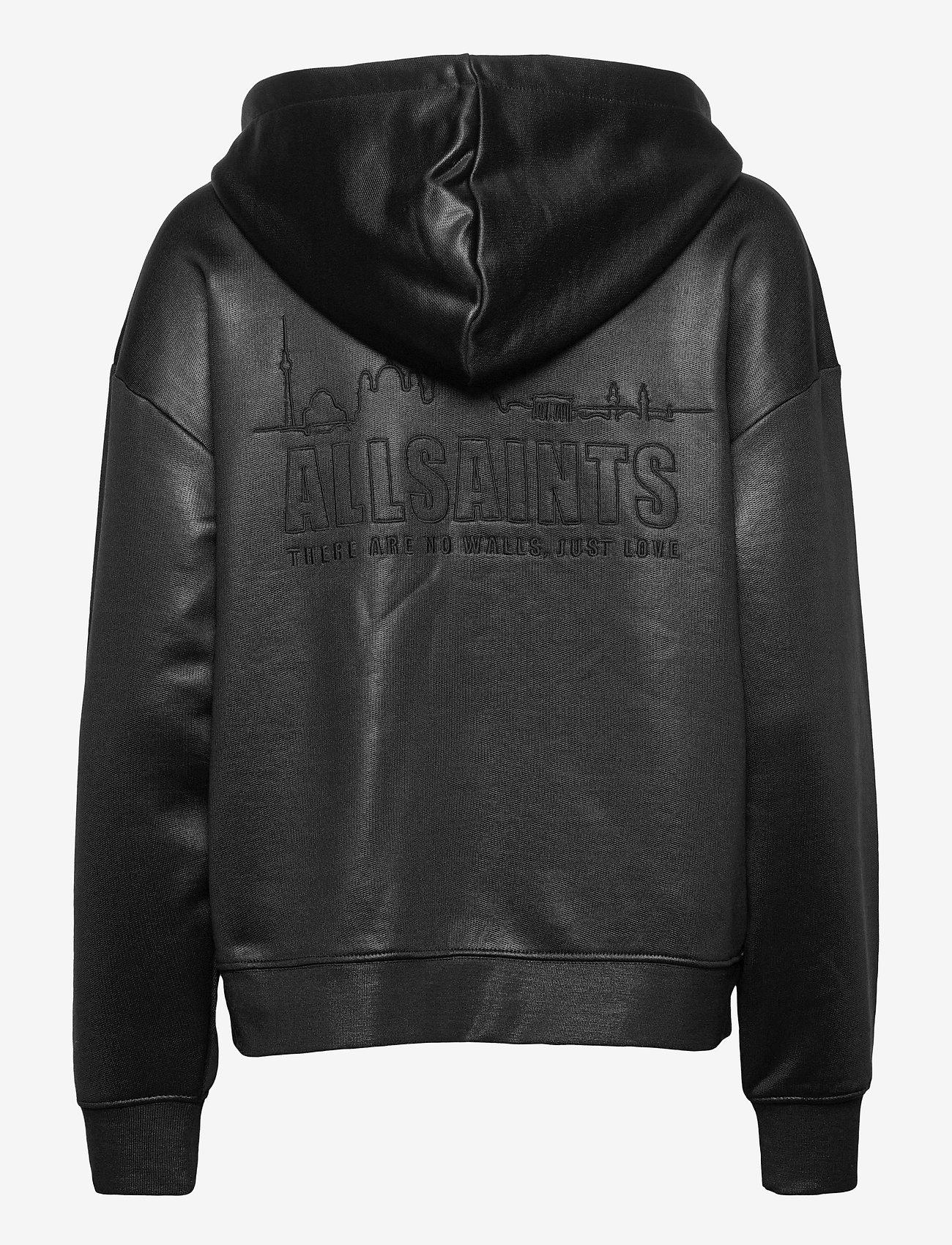 AllSaints - HORIZON CHLO ZIP HOO - sweatshirts et sweats à capuche - black - 1