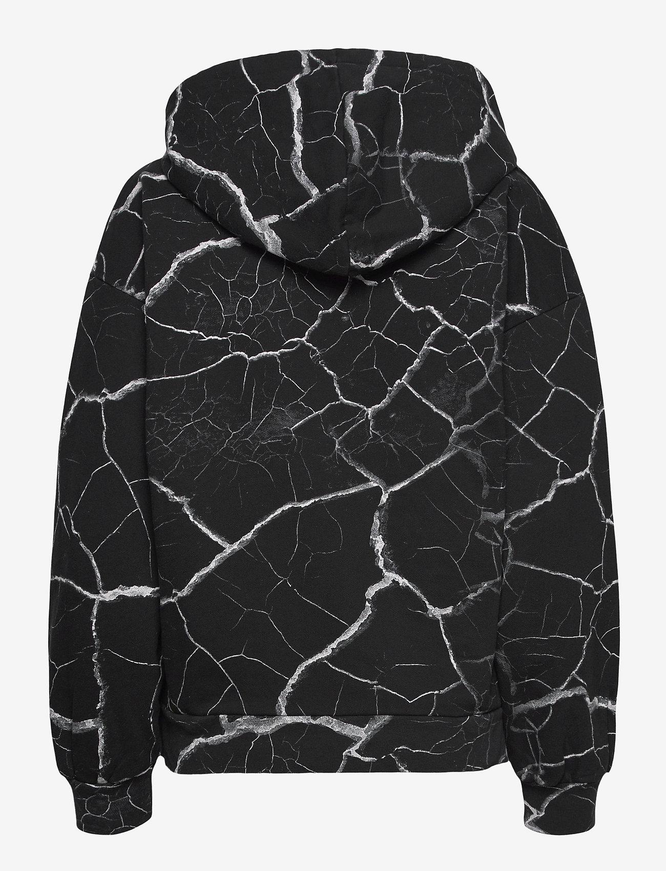 AllSaints - HOPE JEN HOODY - sweatshirts & hættetrøjer - black - 1