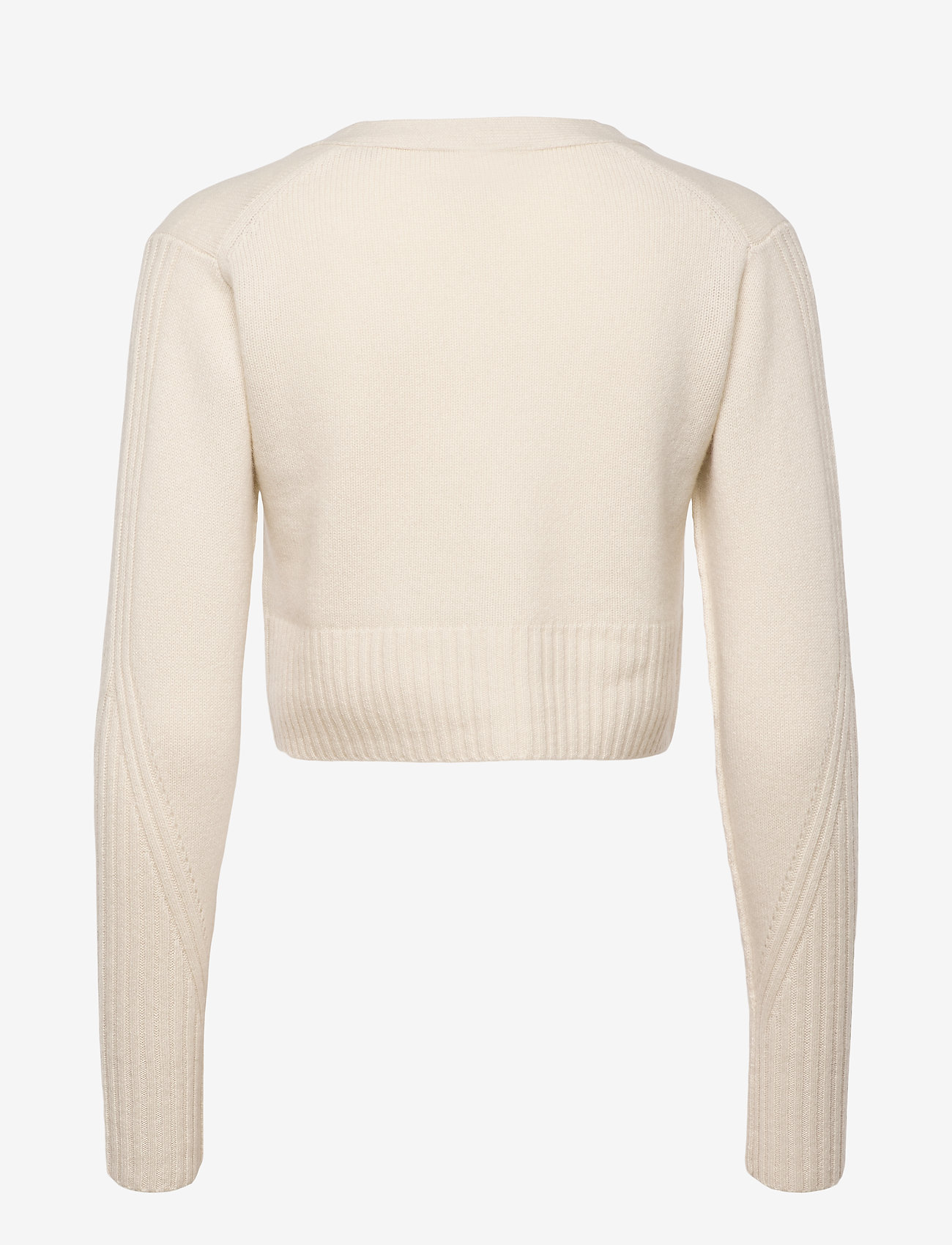 AllSaints - DREW CASHMERE CARDIG - gilets - ivory white - 1