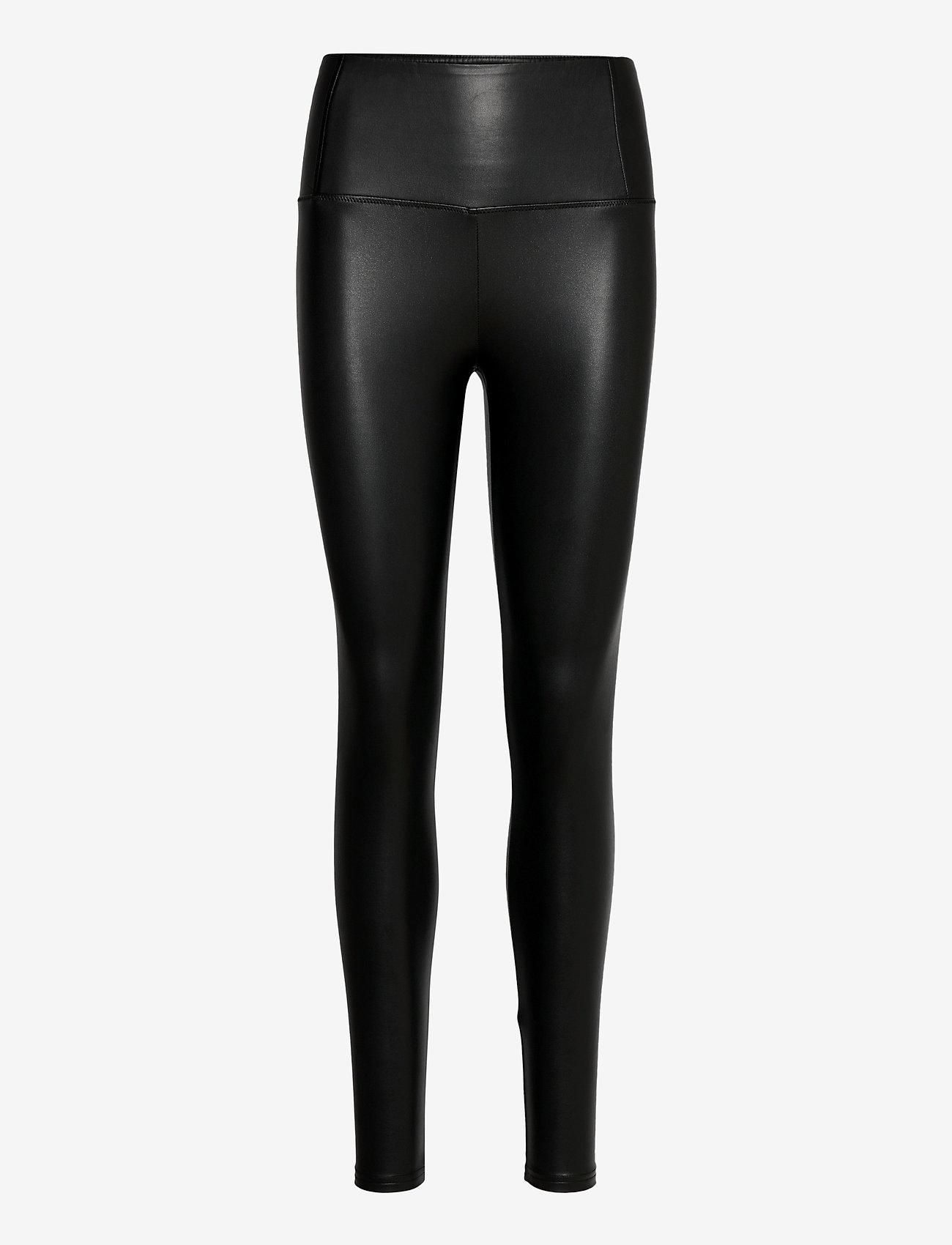 AllSaints - CORA LEGGINGS - læderbukser - black - 1