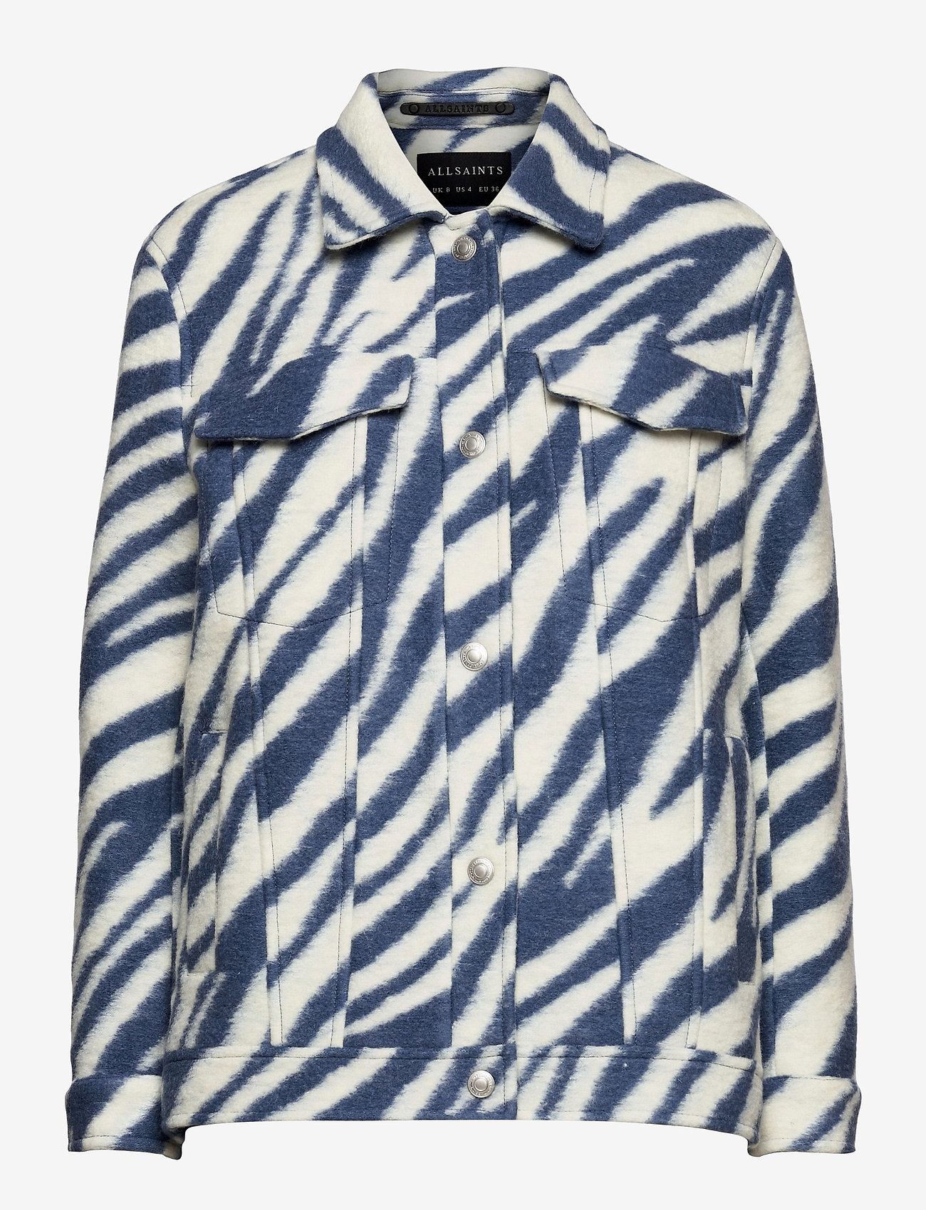 AllSaints - FAYE JACKET - wolljacken - blue/white - 0
