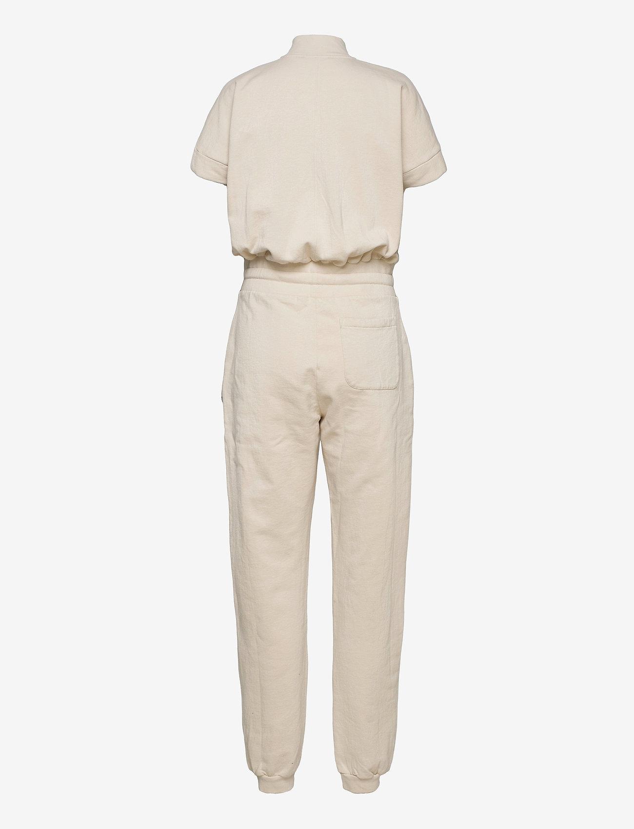 AllSaints - KAYLA JUMPSUIT - kleding - linnet white - 1