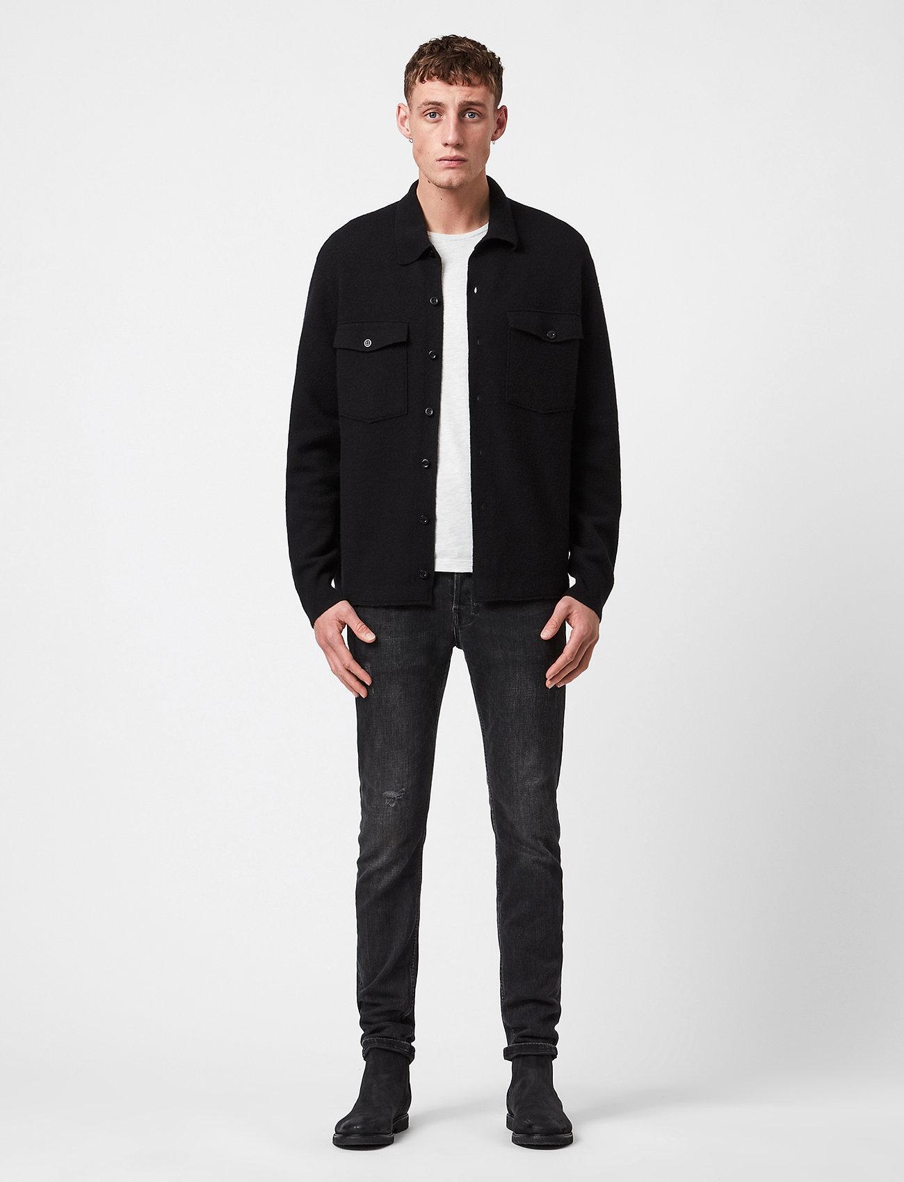 AllSaints - LORI CARDIGAN - wool jackets - black - 0