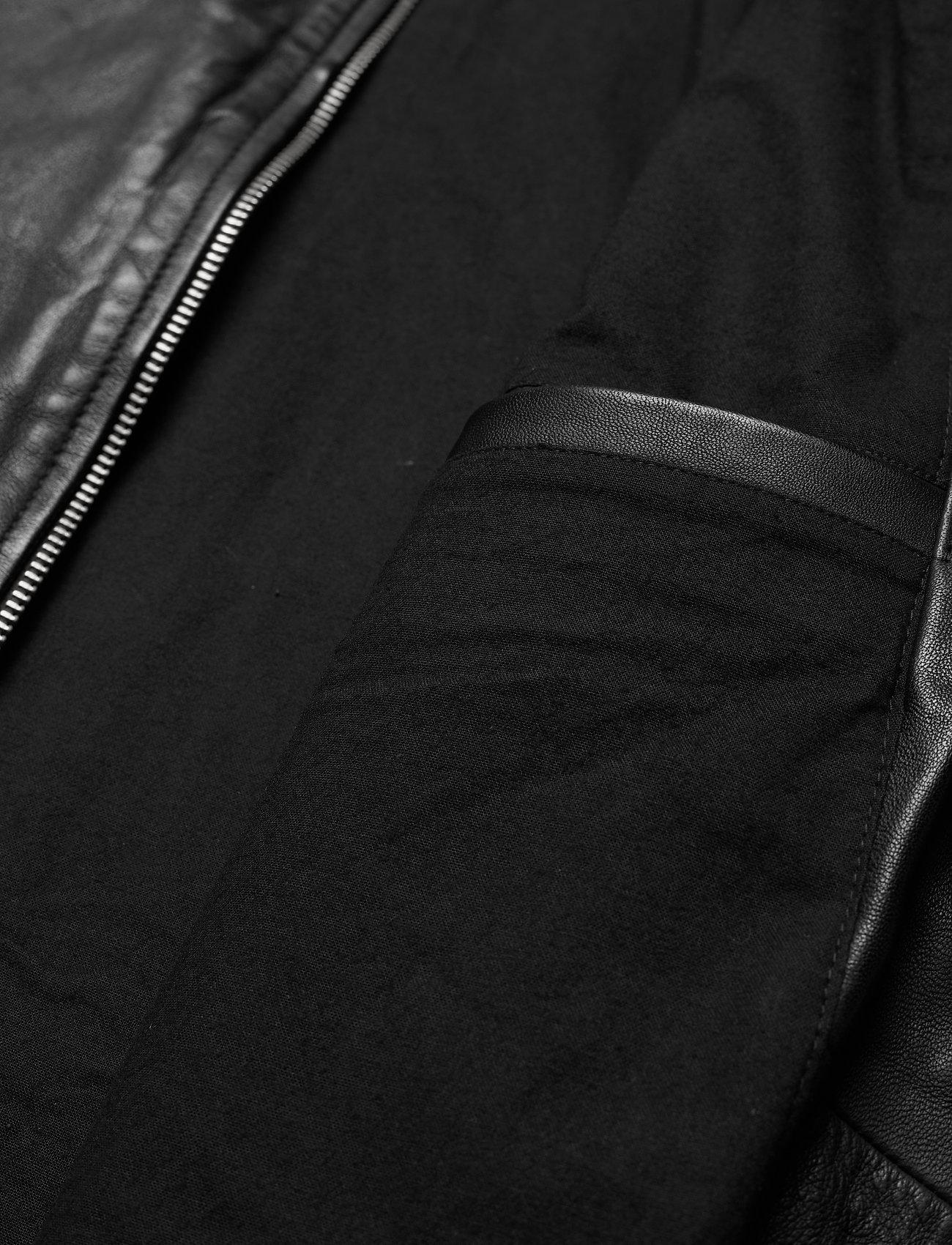 AllSaints CORA JACKET - Jakker og frakker JET BLACK - Menn Klær