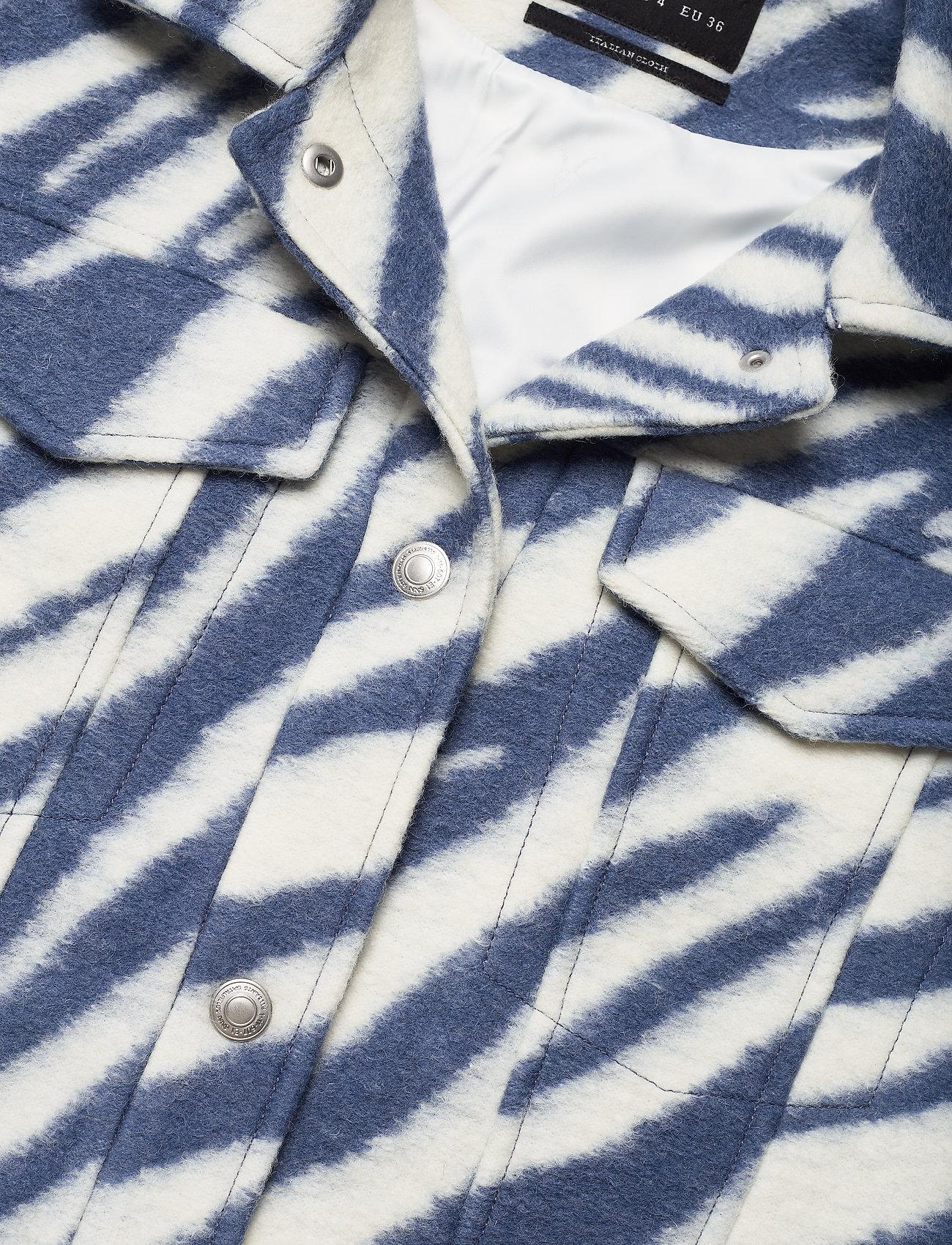 AllSaints - FAYE JACKET - wolljacken - blue/white - 2