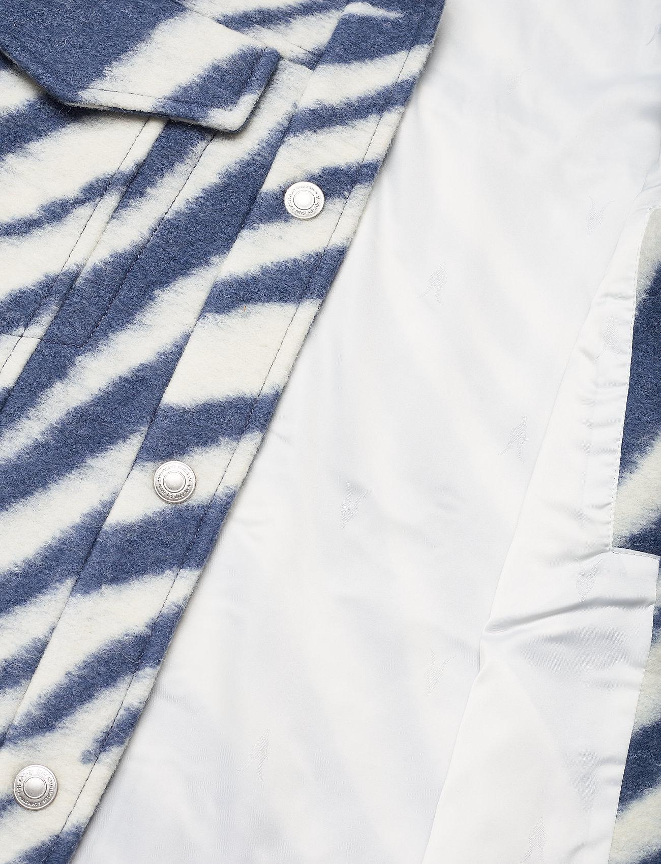 AllSaints - FAYE JACKET - wolljacken - blue/white - 4