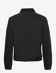 AllSaints - ALDER JACKET - vestes en jean - black - 1