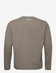 AllSaints - INFERNAL LS CREW - t-shirts basiques - willow taupe - 1