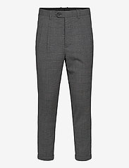 AllSaints - BATALHA TROUSER - pantalons habillés - charcoal - 0