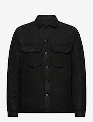 AllSaints - POTOMAC LS SHIRT - vêtements - jet black - 0