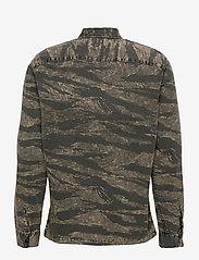 AllSaints - DEPLOY LS SHIRT - chemises de lin - black - 1