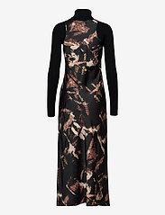 AllSaints - SIGOURNEY TYDY DRESS - kveldskjoler - black - 1