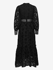 AllSaints - SIA BRODERIE DRESS - kveldskjoler - black - 1