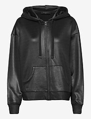 AllSaints - HORIZON CHLO ZIP HOO - sweatshirts et sweats à capuche - black - 0
