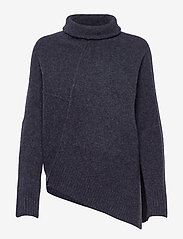 LOCK ROLL NECK - TOTAL ECLIPSE BLUE