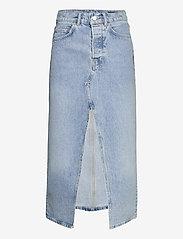 AllSaints - DOTTIE DENIM MAXI SK - jeanskjolar - indigo blue - 1