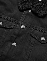 AllSaints - ALDER JACKET - vestes en jean - black - 2
