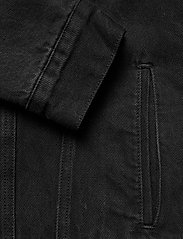 AllSaints - ALDER JACKET - vestes en jean - black - 3