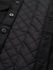 AllSaints - POTOMAC LS SHIRT - vêtements - jet black - 4