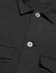 AllSaints - SPOTTER LS SHIRT - chemises de lin - black - 3