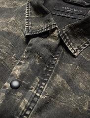 AllSaints - DEPLOY LS SHIRT - chemises de lin - black - 2