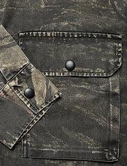 AllSaints - DEPLOY LS SHIRT - chemises de lin - black - 3