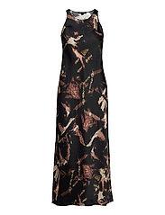 AllSaints - SIGOURNEY TYDY DRESS - kveldskjoler - black - 5