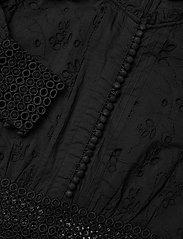 AllSaints - SIA BRODERIE DRESS - kveldskjoler - black - 2