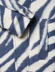 AllSaints - FAYE JACKET - wolljacken - blue/white - 3