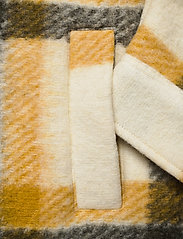 AllSaints - FENIX CHECK JACKET - wolljacken - ecru white/mustard - 3