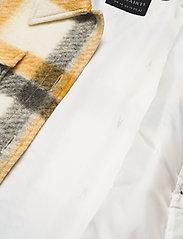 AllSaints - FENIX CHECK JACKET - wolljacken - ecru white/mustard - 4