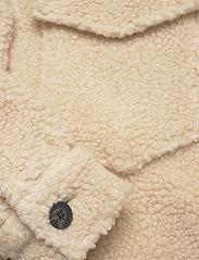 AllSaints - SOPHIE JACKET - kunstpelz - stone white - 3