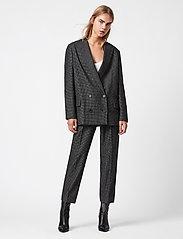 AllSaints - HELEI PUPPYTOOTH BLA - getailleerde blazers - black/white - 0