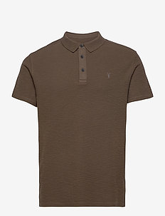 MUSE SS POLO - kurzärmelig - forest brown
